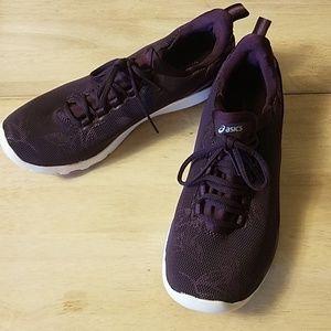 Asics purple sneakers